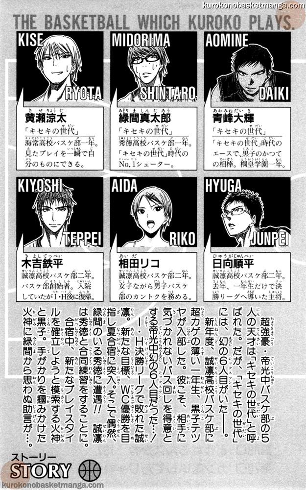 Kuroko no Basket Manga Chapter 62 - Image 3