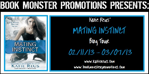 Mating Instinct Blog Tour hosted by Book Monster Promotions