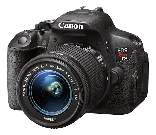 Canon Rebel t5i - Front View #CanonatBestBuy #HintingSeason