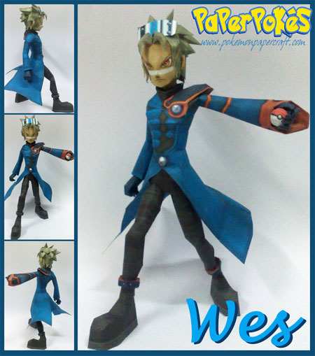 Pokemon Colosseum Wes Papercraft