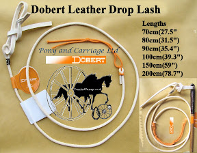 Quality White Leather Lashes With Fixing from Doebert of Germany