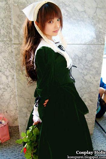 rozen maiden cosplay - suiseiseki 6