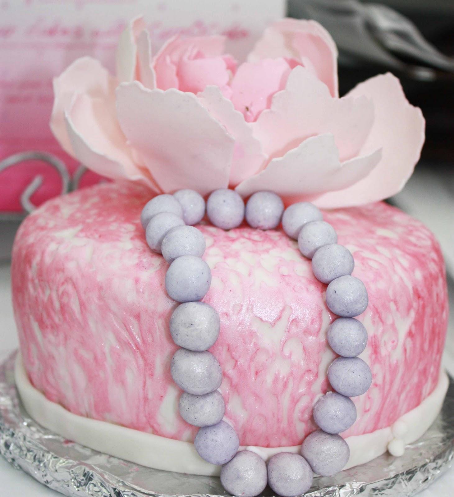 Cup O Cake Marys 24th Birthday Cake Peony Cake