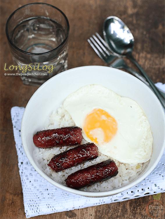 LongSiLog (Longganisa, Sinangag at Itlog)