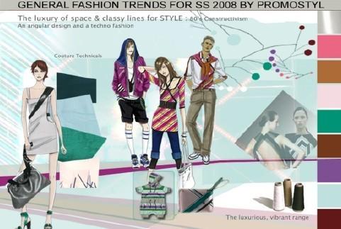 Design o calendário da moda a rede de informação