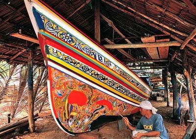 Ko Lae shipbuilding
