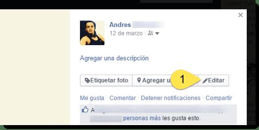 editar foto perfil facebook