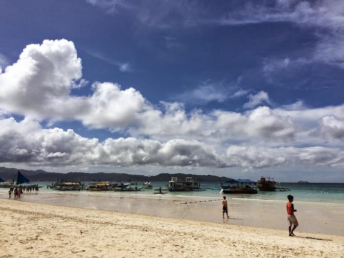 長灘島白沙灘