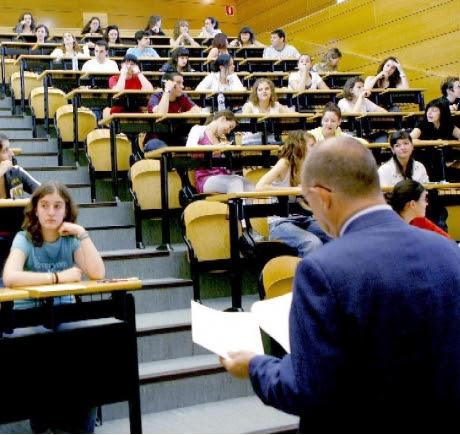 Oración de un profesor recién llegado a la Universidad