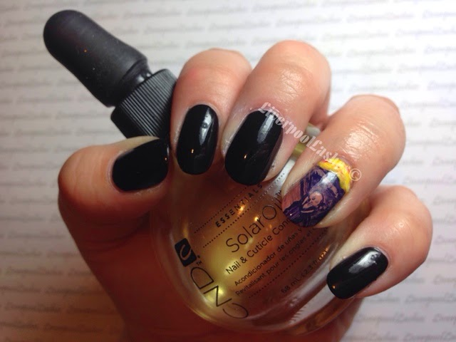 liverpoollashes liverpool lashes the scream nails halloween beauty blogger nail art ideas