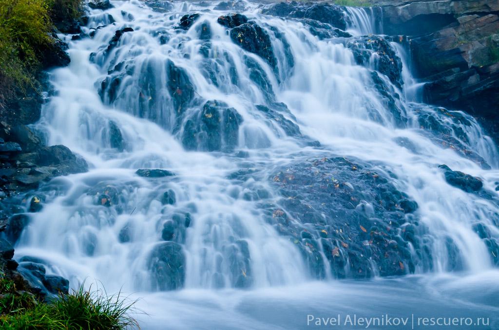 Водопад в Торезе
