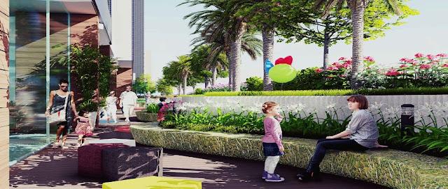 Không gian sống tại Imperial Plaza