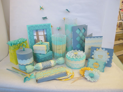 Projects group created with another punch kit—so pretty!