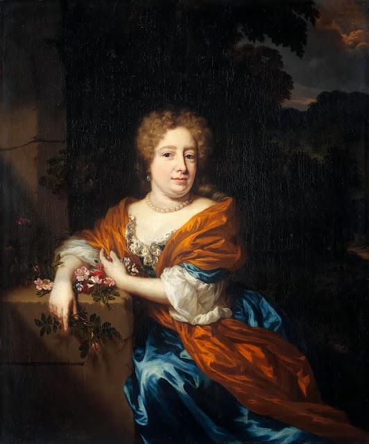 Nicolaes Maes - Portret van Petronella Dunois