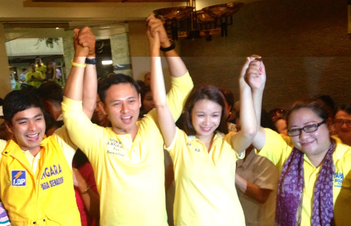Support for Sonny Angara
