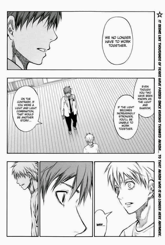 Kuroko no Basket Manga Chapter 223 - Image 02