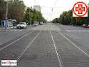 Фото геодезической съемки поперечника после реконструкции трамвайных путей в Москве. Стоимость нивелировки поперечных профилей и цены на нивелирование поперечников http://www.03geo.ru/trans_13