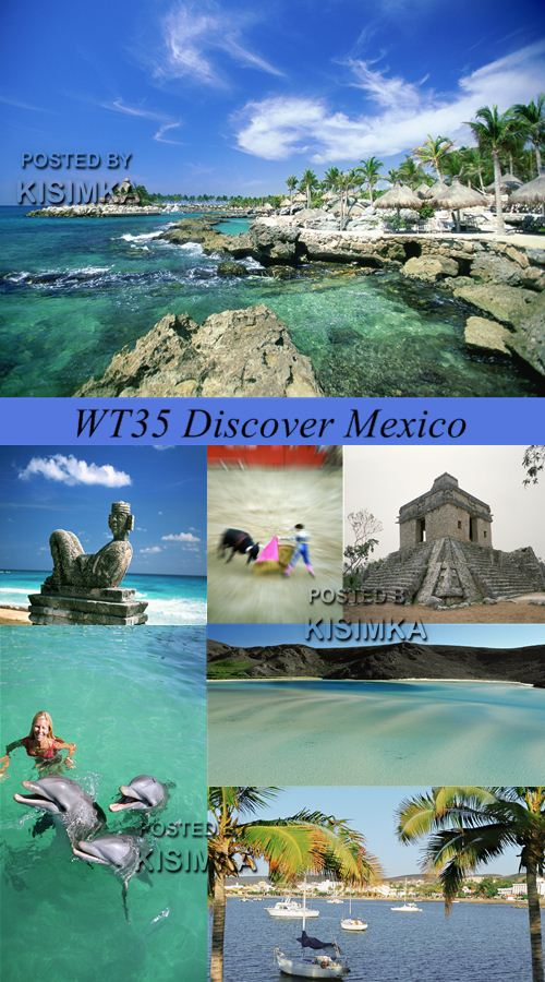 Stock Photo: WT35 Discover Mexico