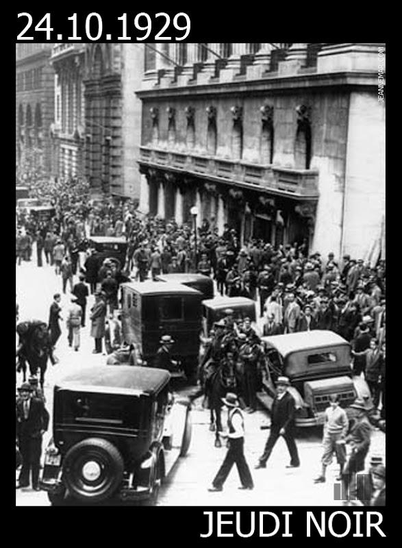 24 octobre 1929 - Jeudi noir - Jean Némar
