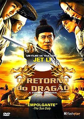 Filme Poster O Retorno do Dragão - A Cidade Perdida DVDRip XviD Dual Audio & RMVB Dublado
