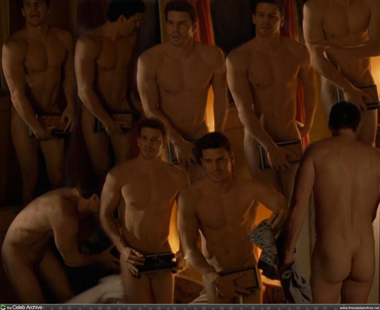 Naked david boreanaz naked pics