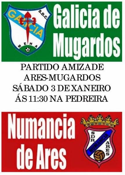 Veteranos: II Partido da Amizade G. de Mugardos - Numancia de Ares.