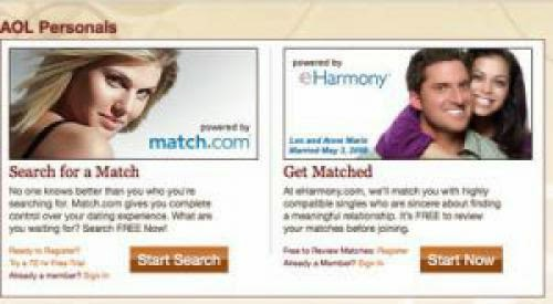Eharmony Deal With Aol Personals