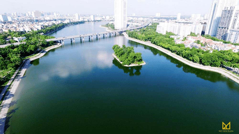 Công viên Hồ Điều Hoà Linh Đàm