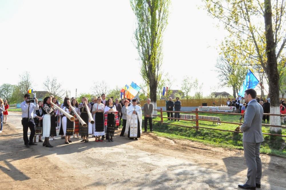 Principele Nicolae, vizită în satul Ianculești din municipiul Carei, județul Satu Mare