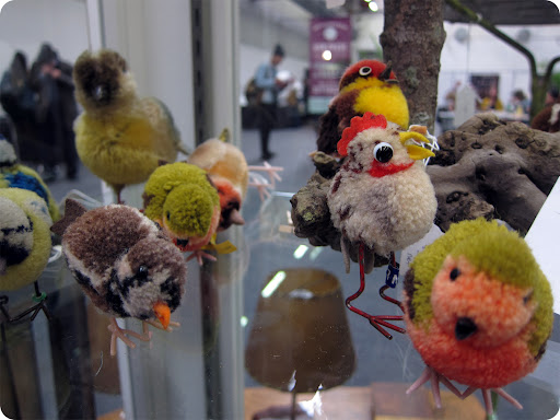 I love the pom-pom chicken...