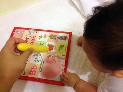 育兒日記 5M  啾寶 信誼魔法筆 點讀筆 寶寶媽咪