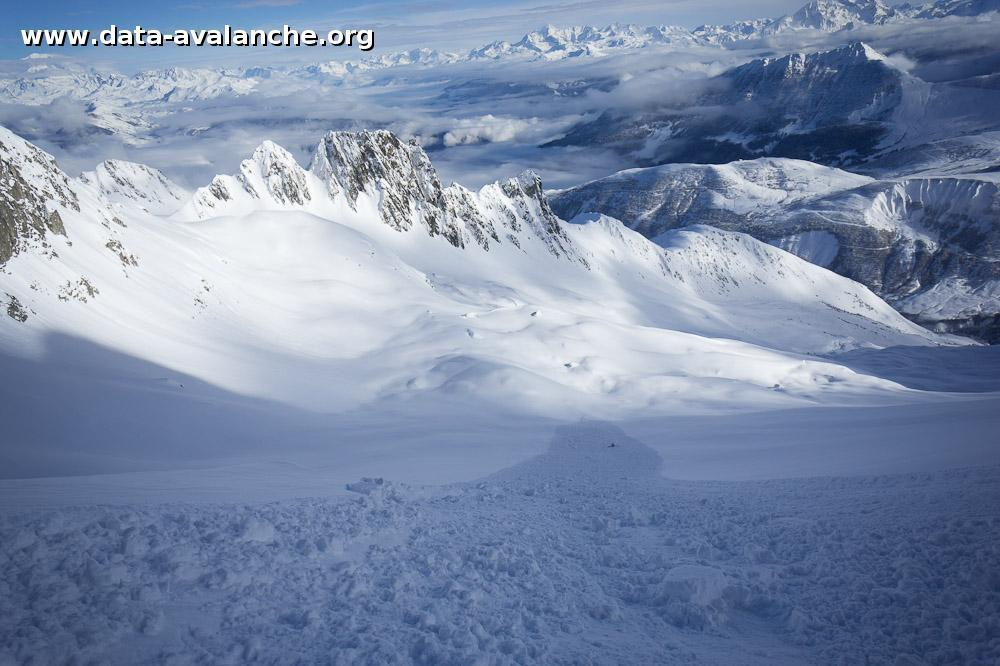 Avalanche Lauzière, secteur Grand Pic de la Lauzière, Col des Aiguillons - Photo 1