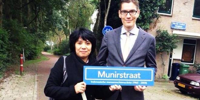 Jalan Munir Di Belanda