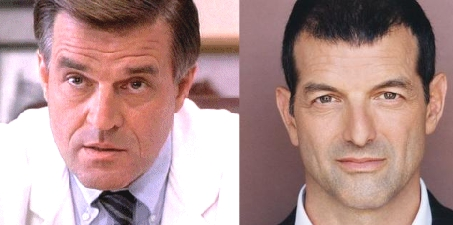 Actually: Left:The Fugitive's Charles Nichols Jeroen Krabbé and Right:Miloš Seinfeld Mark Harelik