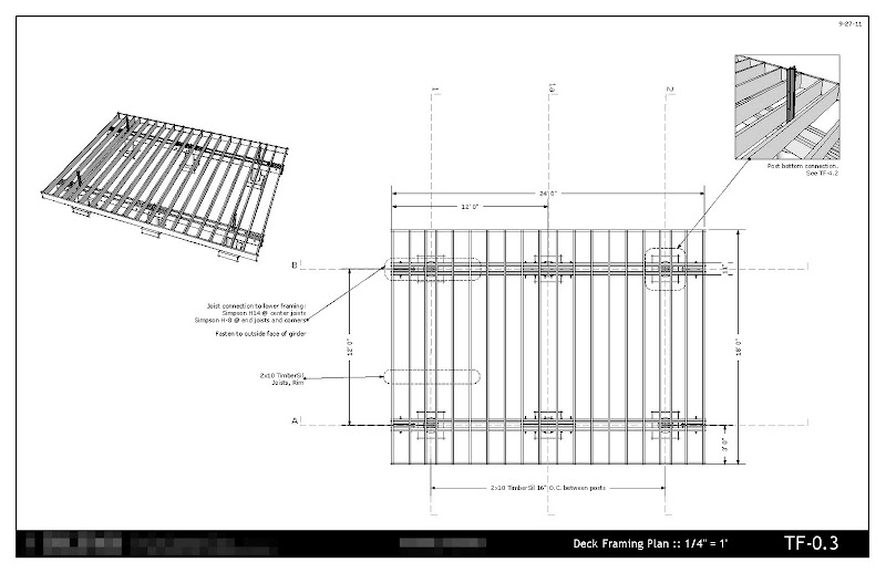 Collection of my sketchup layout work sketchucation 1 for Sketchup deck design