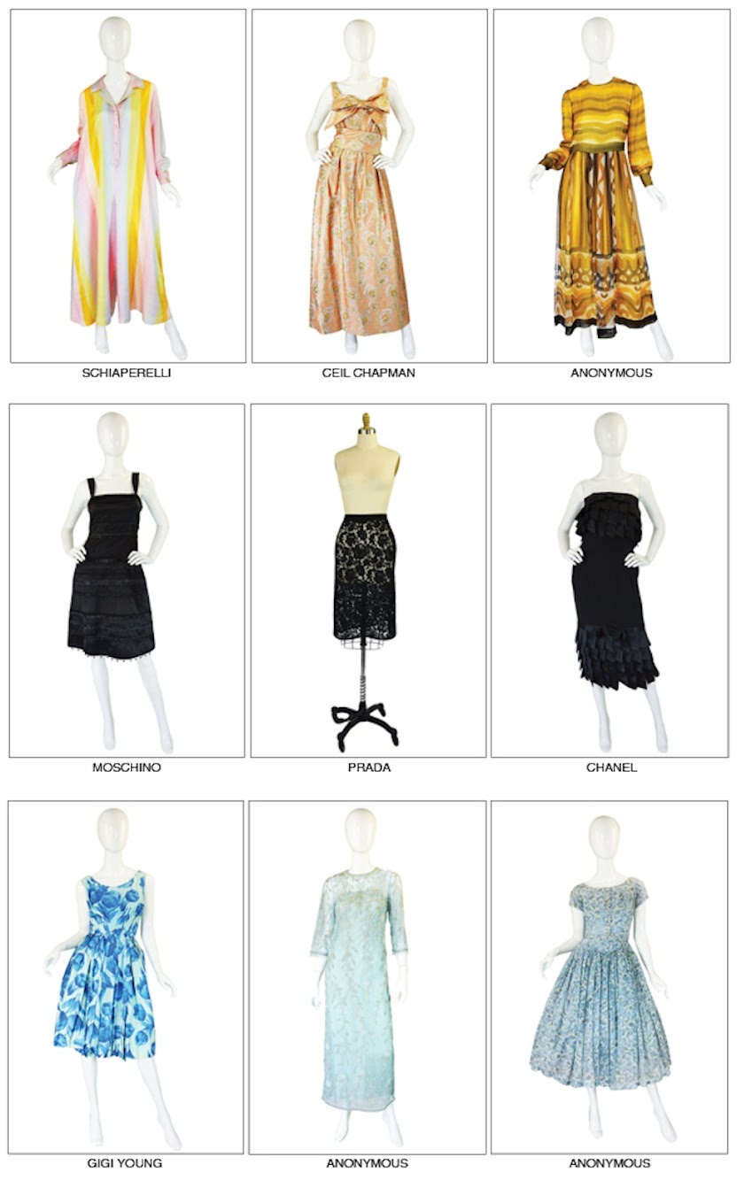 Just a Few of the New Vintage Beauties on the site this week!