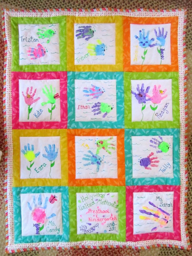 Quilt Patterns For Kindergarten : busy bee quilts: Preschool Auction Quilt