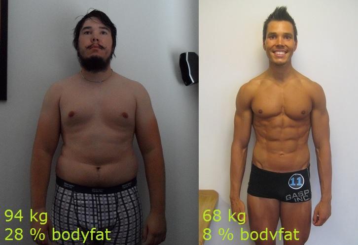 gym resultat 6 månader