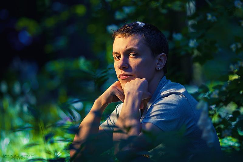 Портретная фотосессия. Портрет. Фотограф Катрин Белоцерковская