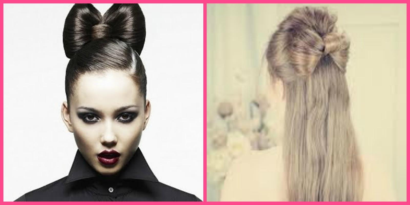 850b739b249d Tutorial fiocco con i capelli (bow hair tutorial) YouTube - acconciature  capelli con fiocco
