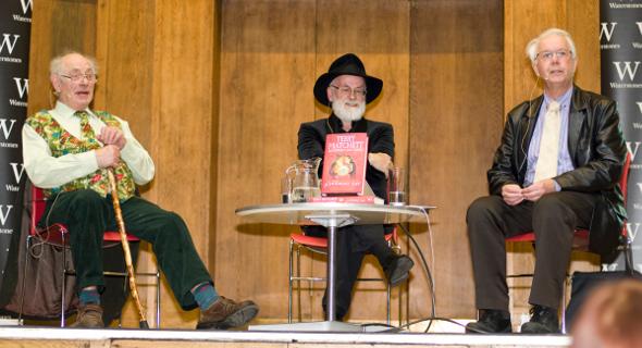 3 wspaniałych autorów książki Nauka Świata Dysku IV