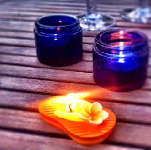 The Longest Day: Patio Cleaning, Candles and Cocktails