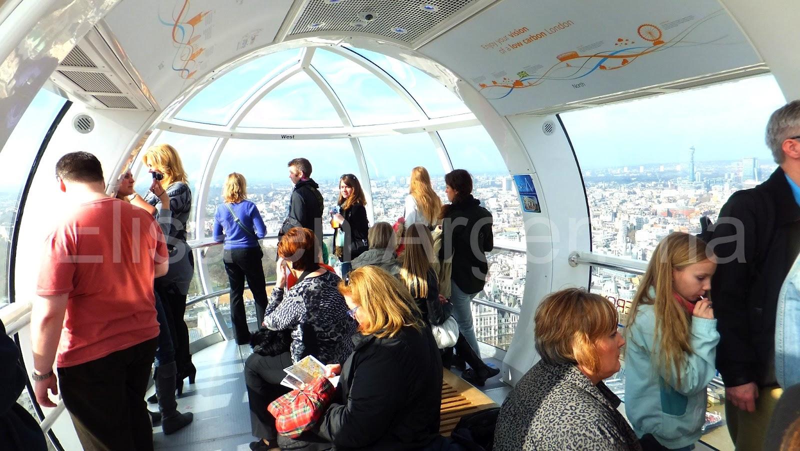People in London: London Eye