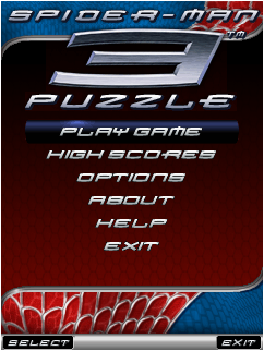 Spiderman 3 Puzzle [By Sony Picture] SPD3a