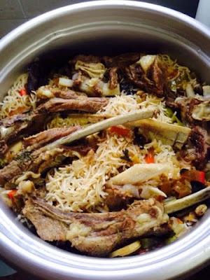 nasi daging sedap