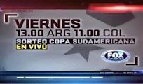 Horarios sorteo Sudamericana 29 Junio