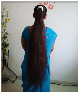 Hair aunties nude indian long