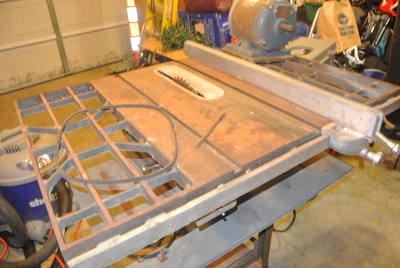 "Restoring a Craftsman 113.27520 10"" table saw"