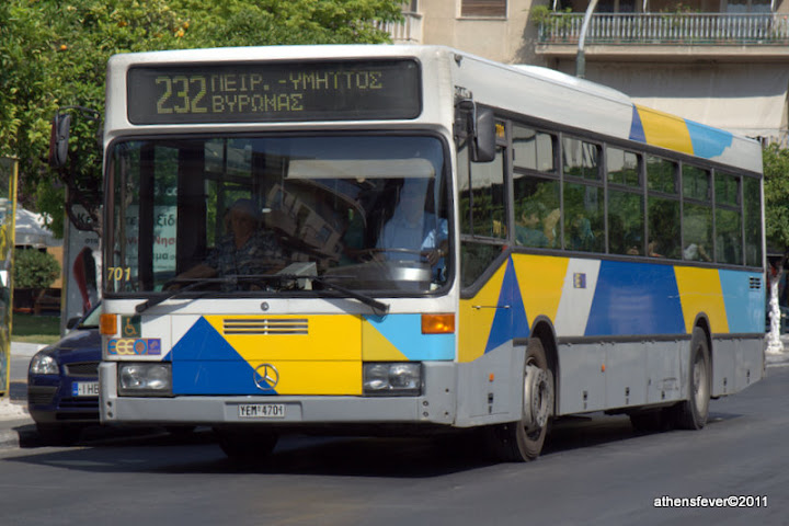 Bus in Athens
