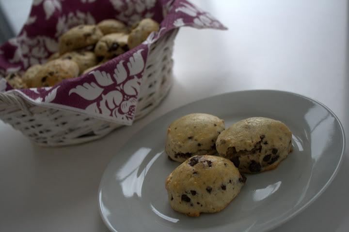 scones chokolade